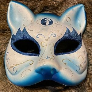 Accessories - Hand-Painted Cat Mask